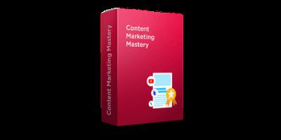 Pre-recorded Content Marketing Mastery <br> (50 videos) course