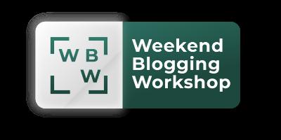 Pre-recorded Weekend Blogging Workshop <br>(10 hours)